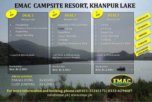 EMAC Seasonal Deals for Islamabad