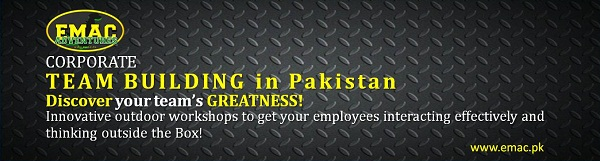 EMAC Corporate Team building in Pakistan