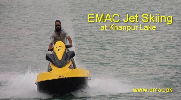 EMAC Jetskiing at Khanpur Lake