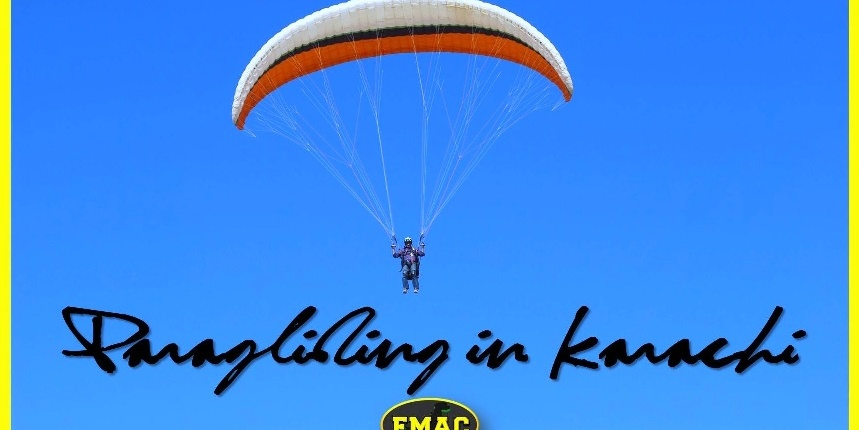 EMAC Paragliding in Karachi