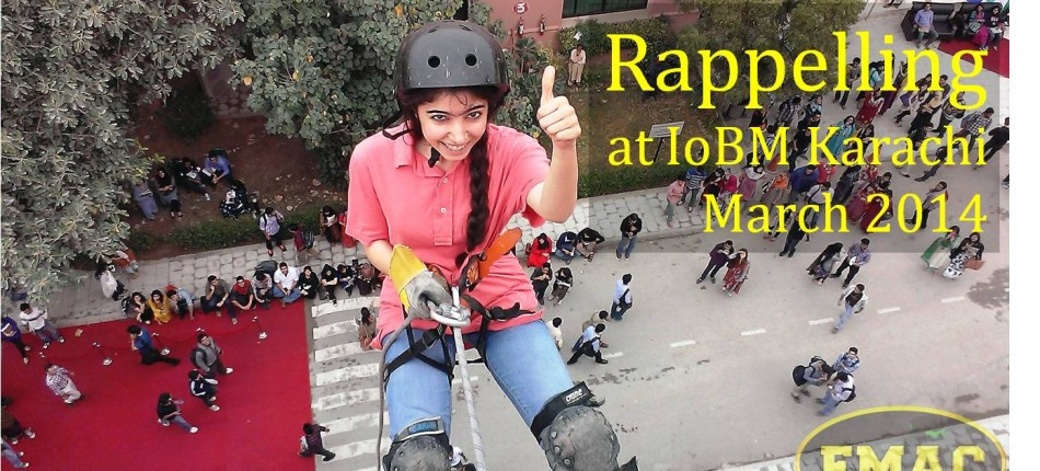 EMAC Rappelling at IoBM